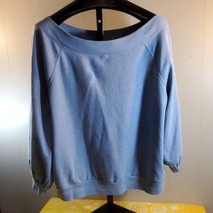 ana Off the Shoulder Sweatshirt